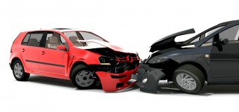 Două automobile s-au lovit pe strada Ginta Latină. Nu sunt victime!