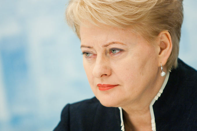 """""""Rusia isi terorizeaza vecinii si foloseste metode teroriste"""" – presedintele Lituaniei"""