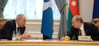 Voronin ține cu Putin și nu cu Președintele țării sale