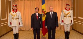 Doi noi ambasadori au transmis scrisorile de acreditare Președintelui Timofti
