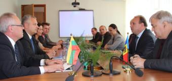 O delegație din Lituania efectuează o vizită de lucru în R. Moldova