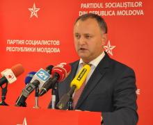 PSRM nu susține referendumul inițiat de PD! Dodon: Aceste discuții nu au sens