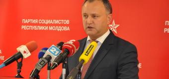 Igor Dodon arată din deget: Dacă timp de o săptămînă…