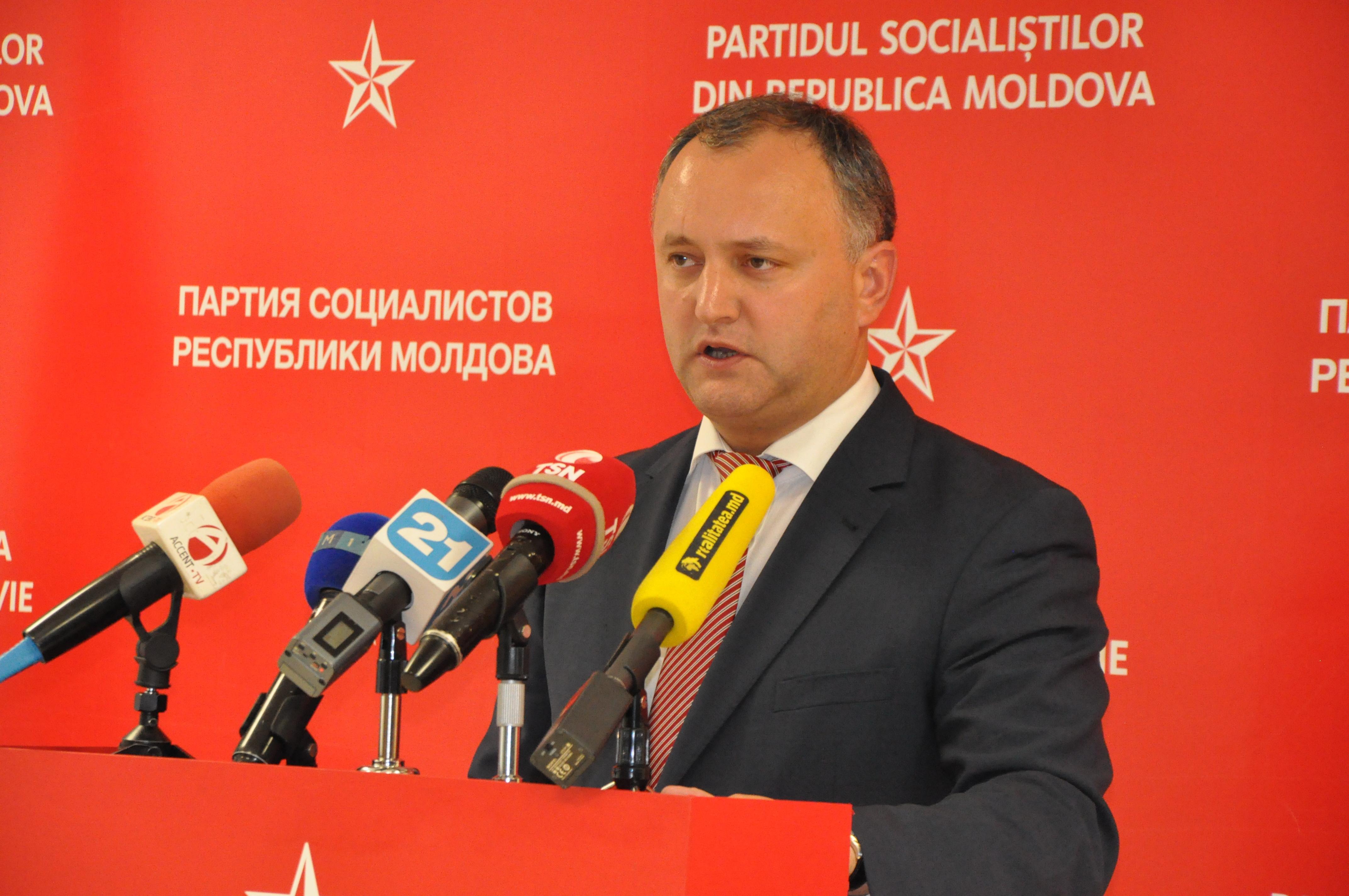 Igor Dodon: Vine timpul să lăsăm geopolitica într-o parte
