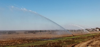 4 700 000 dolari – atît a investit SUA în sistemul de irigare de la Criuleni