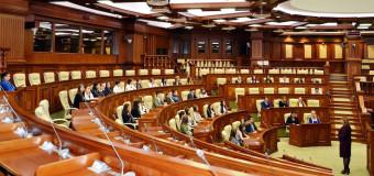 Studenții de la Colegiul Financiar Bancar au vizitat Parlamentul RM