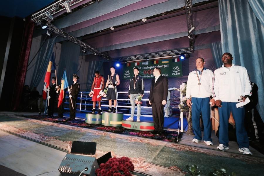 FOTO. Iată cum s-a desfășurat Turneul Internațional de box  sub patronajul lui Vlad Filat!
