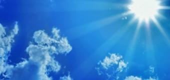 Vremea se menţine frumoasă, cu cer senin şi vânt lin
