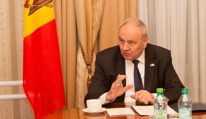 Nicolae Timofti a transmis un mesaj președintelui Franței