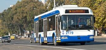 Circulaţia transportului public, de Hramul Chişinăului