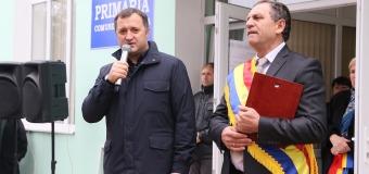 Vlad Filat – cetățean de onoare al comunei Zagarancea, Ungheni