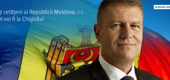 Iohannis – mesaj surprinzător pe Facebook. Despre Republica Moldova!