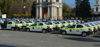 Poliția s-a făcut cu noi automobile de serviciu