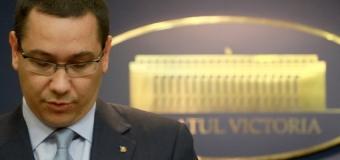 OFICIAL! Victor Ponta a plecat de la Palatul Victoria