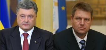 Poroșenko l-a invitat pe Iohannis în Ucraina