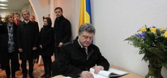 Poroșenko uimește iar! A ținut un discurs în româna la Bălți