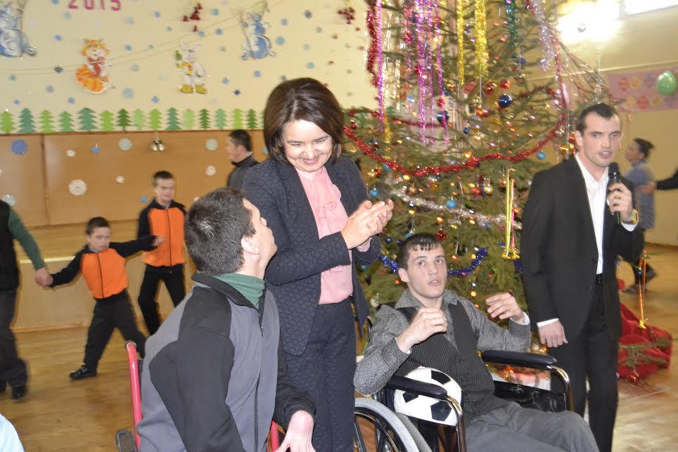Foto// Ministerul Culturii a oferit cadouri pentru copiii de la Casa-Internat din Orhei