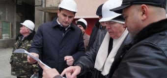FOTO// Vezi la ce etapă se află lucrările de reconstrucție a noului sediu ANSA