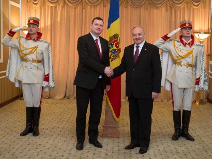 Trei ambasadori noi acreditați în R.Moldova