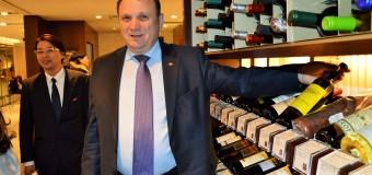 Vinurile moldovenești în vitrina unuia dintre cele mai prestigioase magazine japoneze