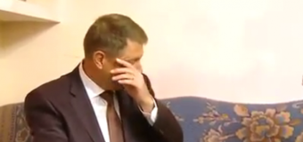 VIDEO: Iohannis emoţionat până la lacrimi. Filmul gestului incredibil făcut de Crăciun