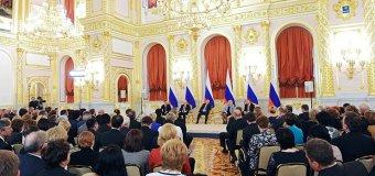 PUTIN: Cei care încearcă să facă presiuni asupra Rusiei nu au puterea necesară