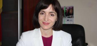 Maia Sandu: Pentru a schimba un sistem, e nevoie de participarea și implicarea celor mai buni și dedicați profesioniști