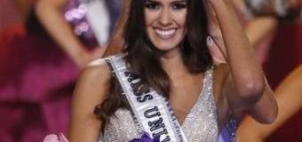 O tânără de 21 de ani din Columbia a câştigat, duminică, a 63-a ediţie a competiției Miss Univers.
