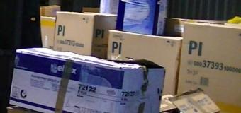 Produse igienice pentru copii – confiscate la vamă