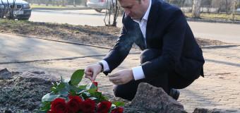 Liderul PLDM a ţinut un minut de reculegere pentru victimele Holocaustului
