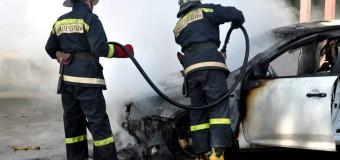 Incendiu în capitală! Mai multe maşini au fost cuprinse de flăcări într-o parcare din sectorul Ciocana //VIDEO