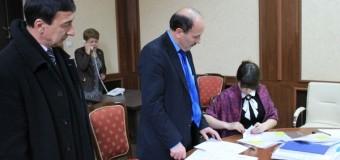 Listele pentru susținerea lui Nicolae Dudoglo au fost depuse