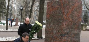 Grigore Vieru – omagiat de politicieni (foto)