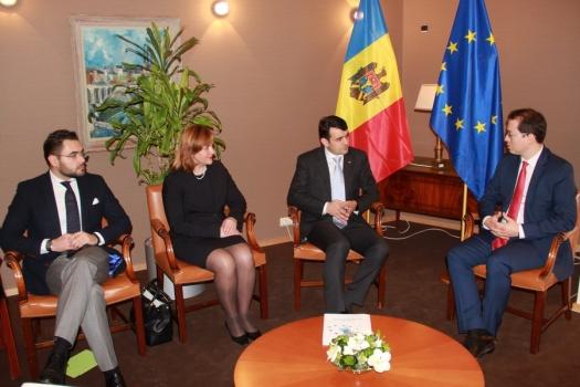 Premierul către oficialii europeni: Integrarea europeană va constitui fundamentul activității Guvernului