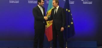 Donald Tusk va veni la Chişinău pentru a susţine noul Guvern