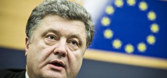 Preşedintele Ucrainei l-a salutat pe Iohannis în română