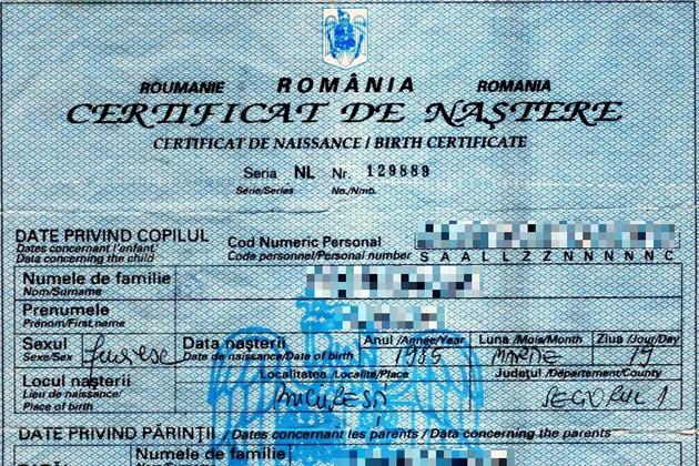 Certificatul de naștere românesc poate fi obținut mai ușor. Detalii!