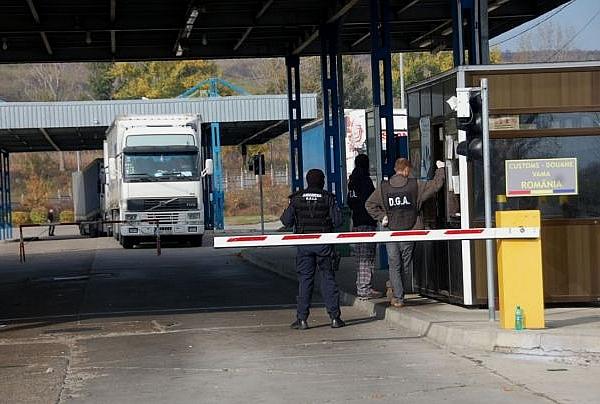 Frontieră: Cinci persoane aflate în conflict cu legea au fost reținute