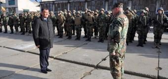 (Foto/Video) Ministrul Apărării și șeful Marelui Stat Major au inspectat tehnica de luptă din dotare