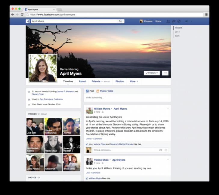 Ce se întâmplă cu contul Facebook după moarte