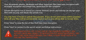 Virus periculos distribuit sistemelor informatice