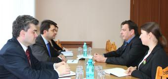 Victor Osipov a avut o întrevedere cu şeful Oficiului Consiliului Europei la Chişinău
