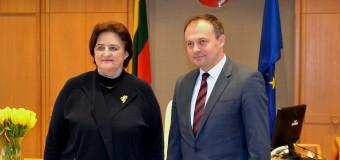 Republica Moldova și Lituania vor intensifica relațiile de cooperare între Legislative