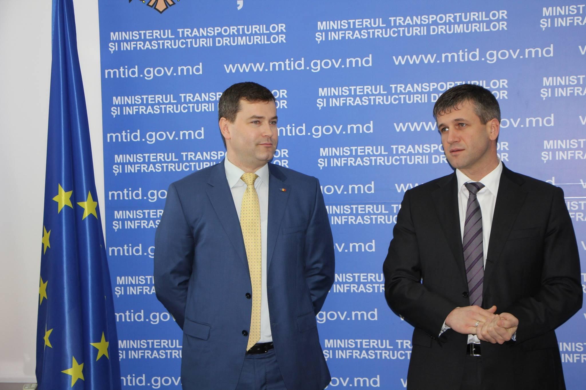 Viceministrul responsabil de sectorul drumurilor – prezentat colectivului