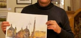 (FOTO) Diaspora: Pictorul moldovean, stabilit în Italia, va oferi un master-class la Moscova