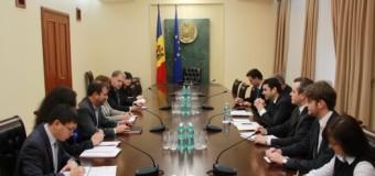 Prim-ministrul Chiril Gaburici s-a întâlnit cu noul şef al misiunii FMI în Republica Moldova