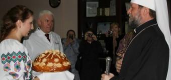 """Produsele """"Franzeluţa"""", binecuvântate înainte de Paşte (foto)"""