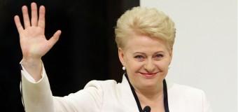 Dalia Grybauskaitė, Preşedintele Lituaniei, vine mâine în Republica Moldova