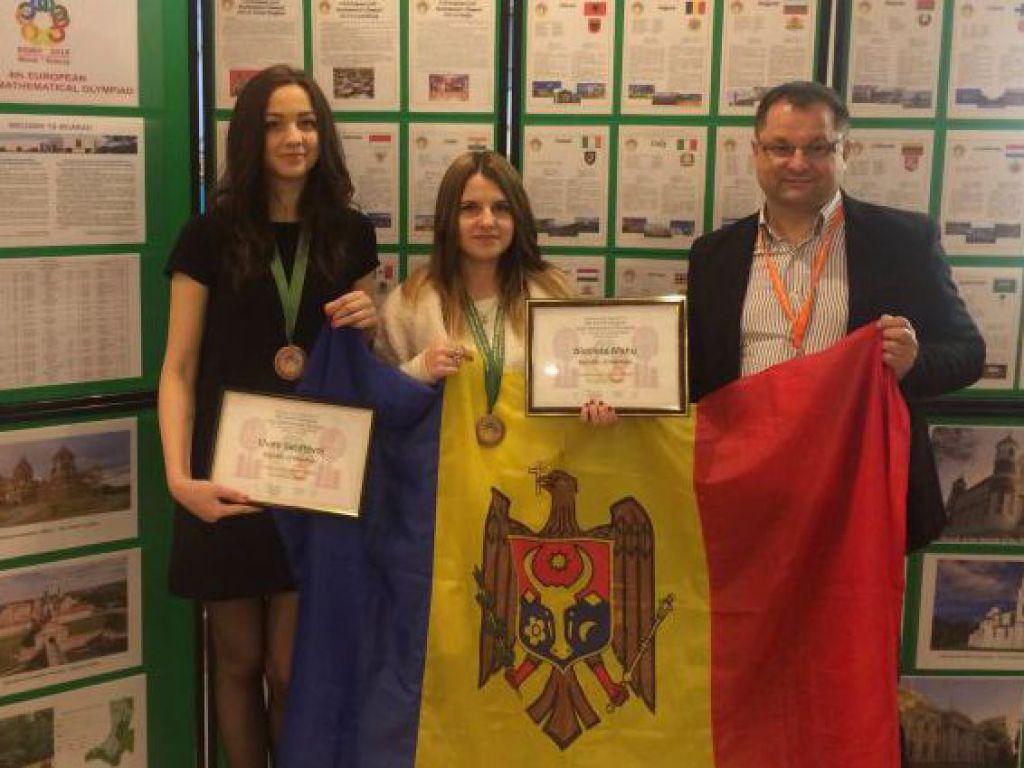 RM a obținut două medalii la Olimpiada europeană de matematică pentru fete