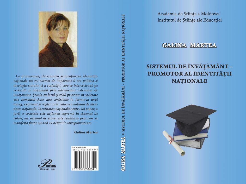 A fost lansată o monografie dedicată sistemului de învățămînt